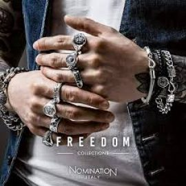 Bracciali e anelli da uomo, FREEDOM collection
