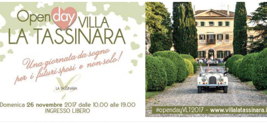 Open Day Villa La Tassinara